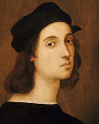 Italian painter and architect Raphael