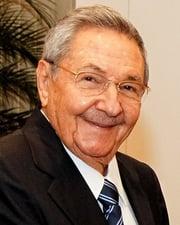 President of Cuba Raúl Castro