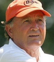 Golfer and Four-Time Major Championship Winner Ray Floyd