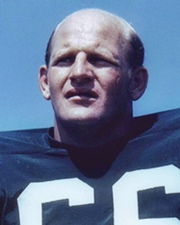 NFL Middle Linebacker Ray Nitschke