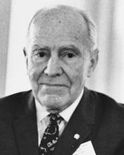 Paleoanthropologist Raymond Dart