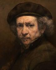 Painter Rembrandt van Rijn