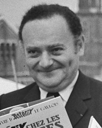 Author and Cartoonist René Goscinny