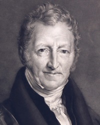 Economist and Demographer Thomas Malthus