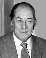 Actor Rex Harrison
