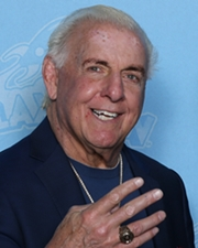 Professional Wrestler Ric Flair
