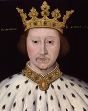 King of England Richard II