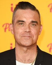 Singer Robbie Williams