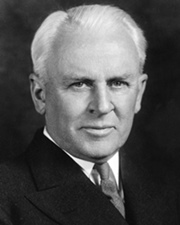 Physicist Robert A. Millikan
