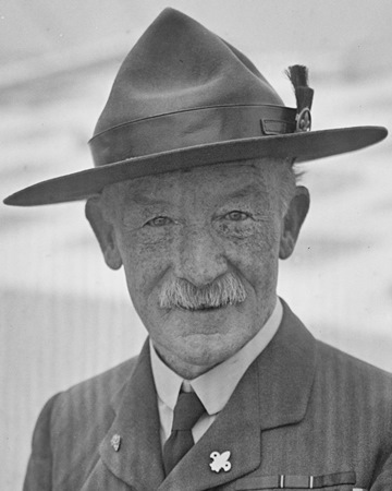 Founder of Scouts Robert Baden-Powell