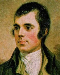 Poet Robert Burns