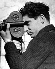 Photojournalist Robert Capa