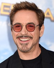 Comedian Robert Downey Jr