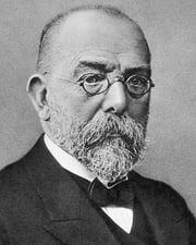 Microbiologist Robert Koch