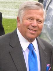 Business Magnate and NFL Owner Robert Kraft