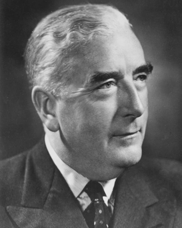 12th Australian Prime Minister Robert Menzies