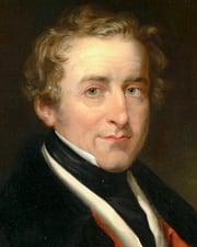 British Prime Minister Robert Peel