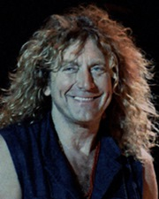 Rock Vocalist Robert Plant