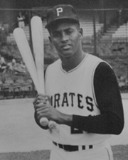 Baseball Player Roberto Clemente