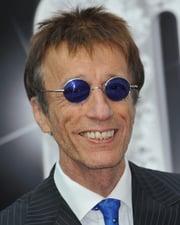 Singer-songwriter Robin Gibb