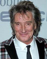 Singer Rod Stewart