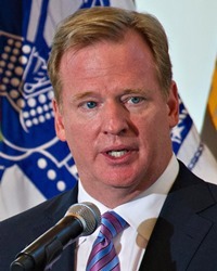 Commissioner of the National Football League (NFL) Roger Goodell