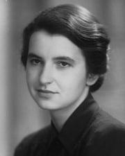 Chemist and molecular biologist Rosalind Franklin
