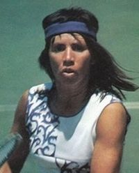 Tennis Player Rosemary Casals