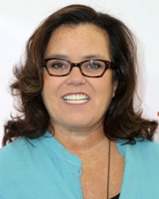 Comedienne Rosie O'Donnell