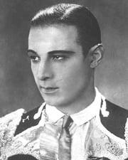 Silent Film Star Rudolph Valentino