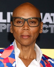 Actor, Singer and Drag Queen RuPaul