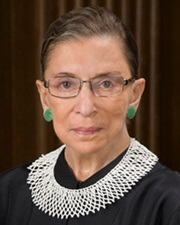 Associate Justice of the Supreme Court Ruth Bader Ginsburg
