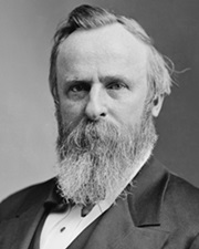 19th US President Rutherford B. Hayes