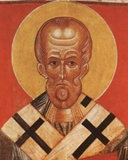 Christian Saint and Greek Bishop of Myra Saint Nicholas