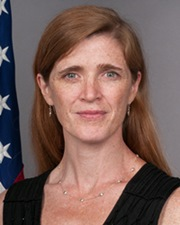 Journalist and Diplomat Samantha Power