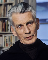Playwright, novelist, and poet Samuel Beckett