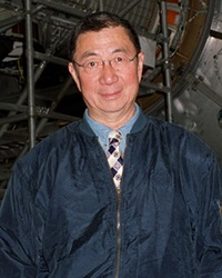 Physicist and Nobel Laureate Samuel Ting