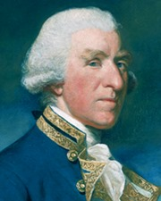 British Admiral Samuel Hood