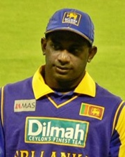 Cricketer Sanath Jayasuriya
