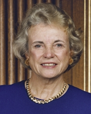 1st Woman Supreme Court Justice Sandra Day O'Connor