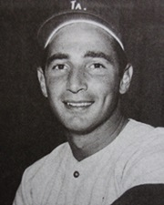 Baseball Pitcher Sandy Koufax
