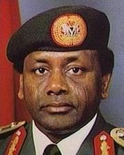 President of Nigeria Sani Abacha