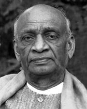 Indian Freedom Fighter and Politician Sardar Patel