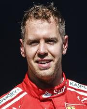 Formula 1 Driver Sebastian Vettel