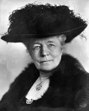 Author and Nobel Laureate Selma Lagerlöf