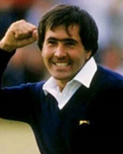 Golfer and Five-Time Major Winner Seve Ballesteros