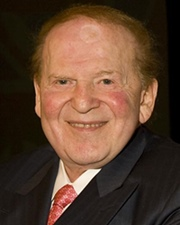 Entrepreneur and Founder of Las Vegas Sands Sheldon Adelson