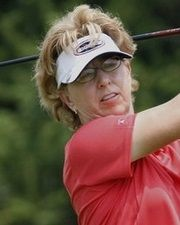 LPGA Golfer Sherri Turner