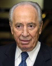Israeli Statesman Shimon Peres