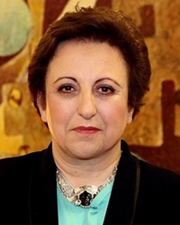Lawyer and human rights activist Shirin Ebadi